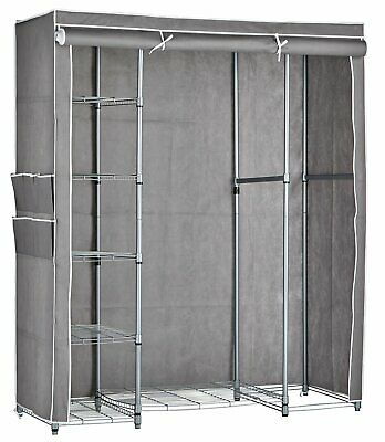 Argos Home Triple Heavy Duty Covered Rail Grey And White