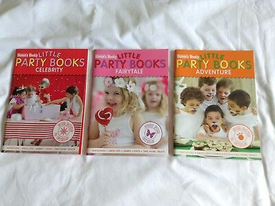 3 Women's Weekly Little Party Books