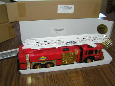 NIB 1995 Sunoco Series 2 Fire Truck - Gold Serial Numbered Marcus Hook Ltd. Ed