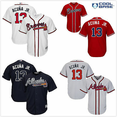 7d26f3f289d ... where can i buy mens 13 ronald acuna jr. cool base atlanta braves jersey  white