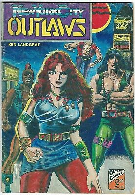 New York City Outlaws #4, 1986 Outlaw Comics
