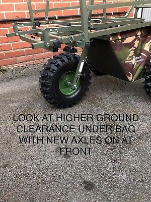 Prestige Carp Porter Bigboy Make Your Barrow Higher Deluxe Axle Suspension Kit