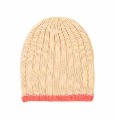 Cotton On Kids Toddlers Girl Accessories Orange Colour Beanie One Size New W Tag