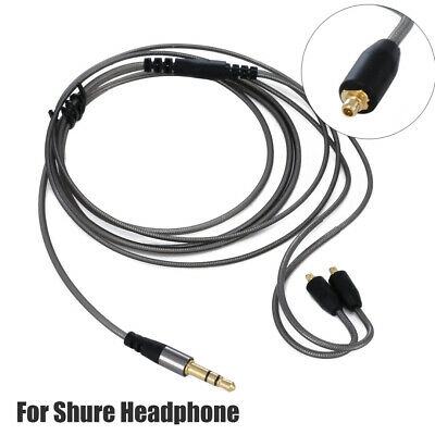 Replacement 3.5mm Earphone Audio Cable For Shure Headphone SE215/315/425/535/846