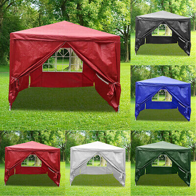 4X3m Heavy Duty Garden Party Marquee Outdoor Awning Canopy Pavilion Tent Patio