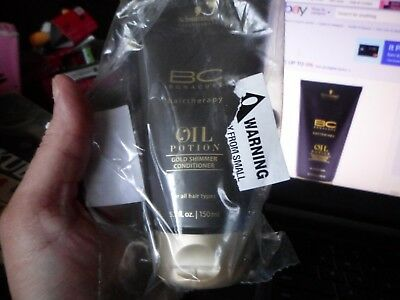 9057d3a837 Schwarzkopf BC Bonacure Oil Potion Gold Shimmer Conditioner 5.1 oz / 150 ml