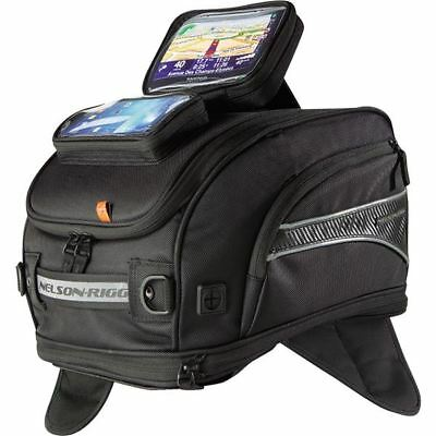 Black Nelson Rigg CL-2020 GPS Sport Magnetic Mount Tank Bag
