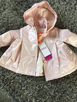 6303cab41d3 BAKER BY TED Baker' Baby Girls' Padded Coat. Pink/floral. 0-3 Months ...