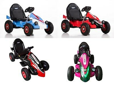 New 12V Electric Battery Ride On Kids Go Kart With Rubber Tyres