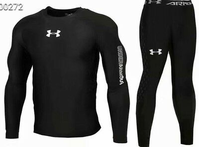 Under Armour Men's Cold-Gear Long Tight and Long Sleeve Compression NEW MODEL
