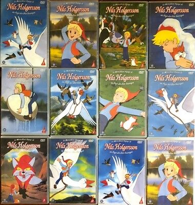 Nils Holgersson - Volume 1 à 12 - Lot de 12 DVD