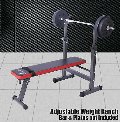 Energetics - Heavy Duty Flat Weight Bench Press - Home Gym Strenth Training