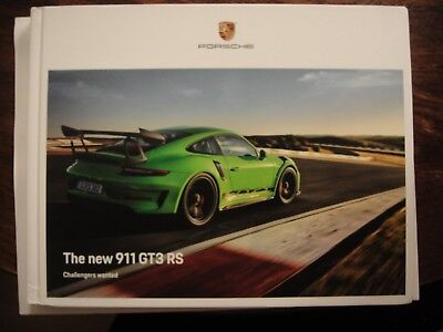 Porsche 911 GT3 RS 2018 Official Hardcover book