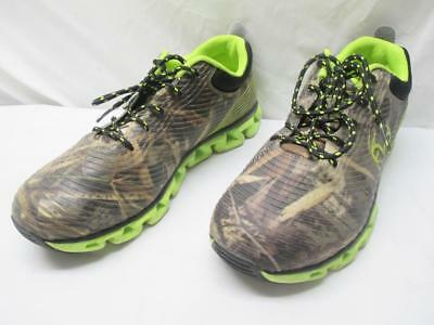 bd1cfe933aab6 Realtree Outfitters CONSTRICTOR Hiking Trail Outdoor SHOES Mens 11 4E Camo  Lime