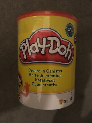Play-Doh create n canister set includes 20 playdoh tubs 45 acesories