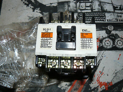 Fuji Electric Magnetic Contactor SC-5-1 (SC20AA) 4NC0H0  Aux.1N01NC Brand NEW