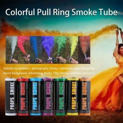 Colorful Pull Ring Effect Smoke Tube for Outdoor Background Stage Photography BE