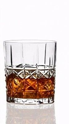 NIB Waterford BRADY Double OLD FASHIONED Glasses German Crystal NEW Set of 4