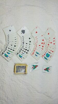MICHELIN TIRES TYRES Advertising Playing Cards Man Opened Deck Complete Deck
