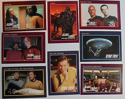 1991 Impel: Star Trek 25th Anniversary Complete  Series  2 (150 base cards)