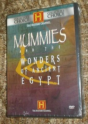 The History Channel Mummies And The Wonders Of Ancient Egypt Dvd, New And Sealed