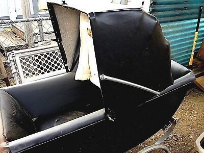 Vintage 1950's Babyhood baby Carriage Buggy Stroller Needs good home!!