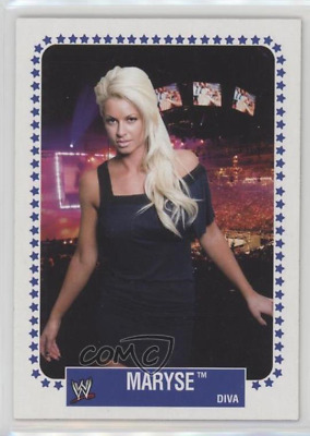 "2008 WWE TOPPS HERITAGE 1V ""MARYSE"" BASE TRADING CARD - V/Good Cond"