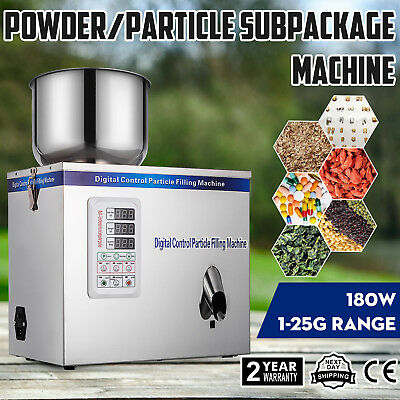 1-25g Particle Powder Subpackage Filling Machine Device Weighing Bag Sugar