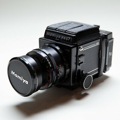 MAMIYA RB67 PRO Sd Medium Format Film Camera W/ Mamiya Sekor 65Mm Lens