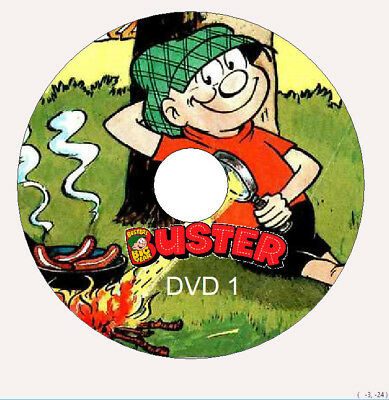 Buster Comics Collection 900 Issues on 5 DVD ROMs