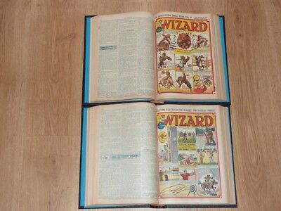The Wizard Comics - 3rd Jan to 26th Dec 1953 - Full Year 2 Bound Volumes