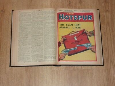 The Hotspur Comics - 3rd Jan to 25th Dec 1948 - Full Year Bound Volume