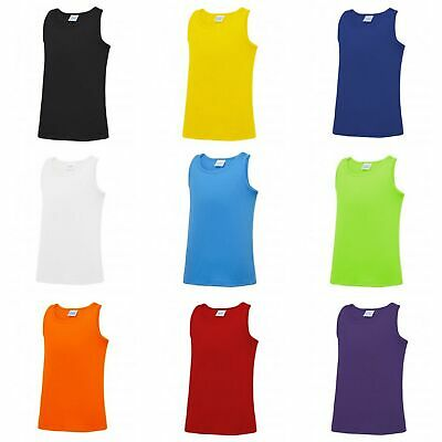 AWDis Childrens//Kids Just Cool Sleeveless Vest Top
