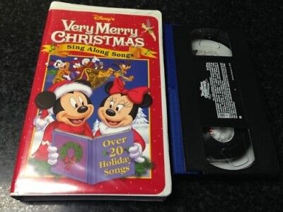 Disney Sing Along Songs Very Merry Christmas Songs 2002.Sing Along Songs Very Merry Christmas Songs Vhs Video Free
