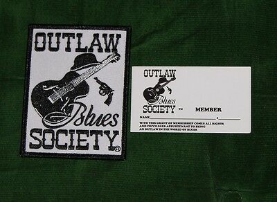 United States Registered Service Mark For Sale Outlaw Blues Society
