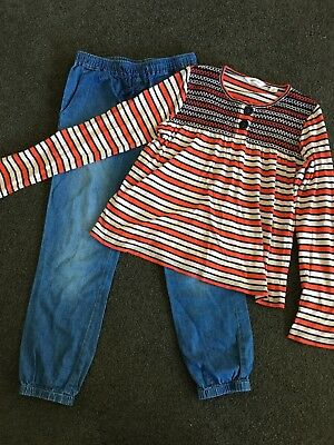 SEED COUNTRY ROAD Girls Size 6 7 Top Pants Jeans