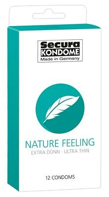 Secura Nature Feeling, 12er/24er/100er, extra dünne Kondome, Ultra Thin, Condome