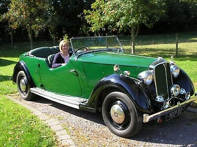 Classic 1947 Rover 12 Sports Tourer, Full Weather Equipment, Retirement Sale