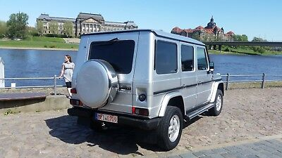 TOP MERCEDES G 300 Turbo Diesel 5 Gang Lang H Oldtimer Benz Expidition Womo
