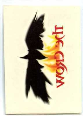 The Crow City of Angels Tempory Tattoo - #8 - Bad Boy Prods - Kitchen Sink 1996