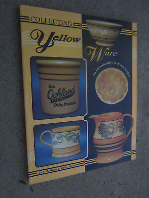Reference Book Collecting Yellow Ware pottery stoneware SIGNED LISA S McALLISTER