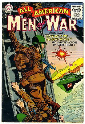 "All American Men of War #20 VG/FN '55 ""strict grading / 1 day shipping"""