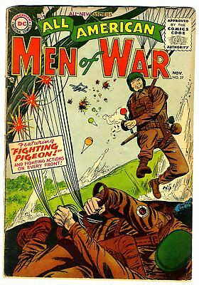 """All American Men of War #27 G/VG 1955 """"strict grading"""" and """"1 day shipping"""""""
