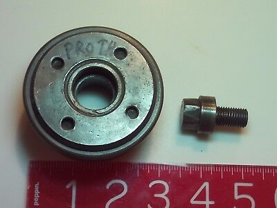 PROTH INDUSTRIES Surface Grinder Wheel hub and screw for PSGS-2550AH 1984