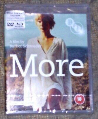 More [1969] BFI Blu-ray & dvd versions Barbet Schroeder Rare UK Import new 2011