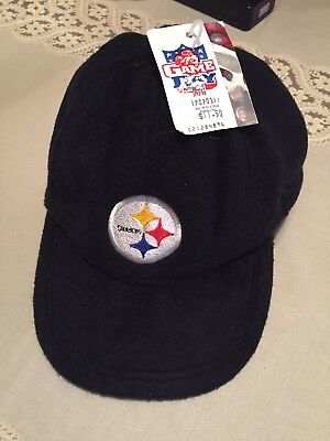Vintage NFL Game Day 90s PITTSBURGH STEELERS FleeceHat Cap Super Bowl  Champions 55a348df2