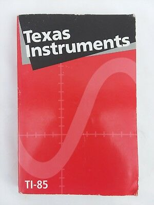 Owner's Manual Guidebook For Texas Instruments TI-85 Graphing Calculator    (PP)