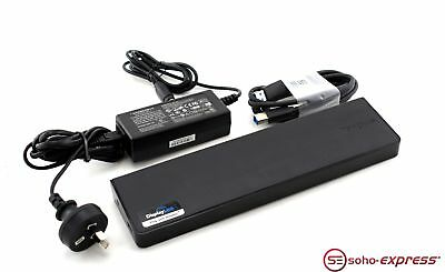 Targus Usb 3.0 Superspeed Dual Video Docking Station With Power Supply Acp70Au