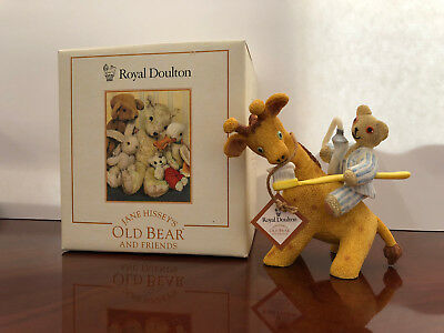 """Royal Doulton Jane Hissey's Old Bear & Friends """"Time For Bed"""" Figurine"""