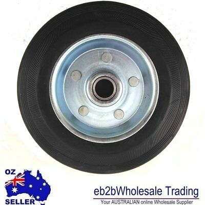 Solid RUBBER WHEEL 5 INCHES
